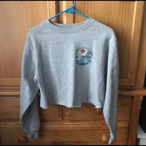 Brandy Melville Cropped Sweatshirt